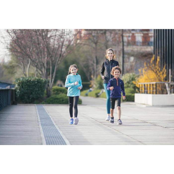 Sportschuhe Walking Soft 140 Kinder schwarz/weiß