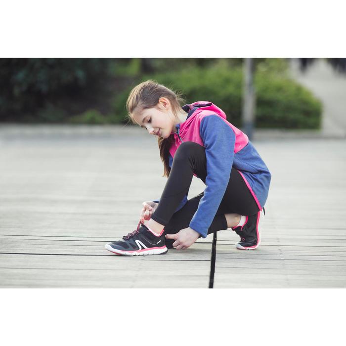 Zapatillas de marcha deportiva para niños PW 540 negro / rosa