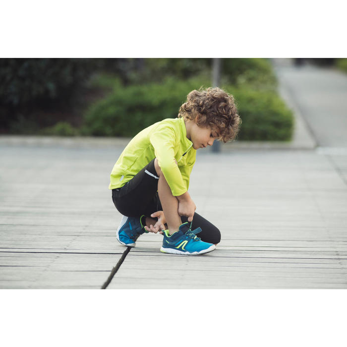 Kindersneakers PW 540 marineblauw/rood