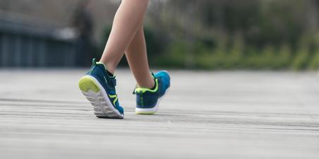 Sepatu jalan anak PW 540 biru/hijau