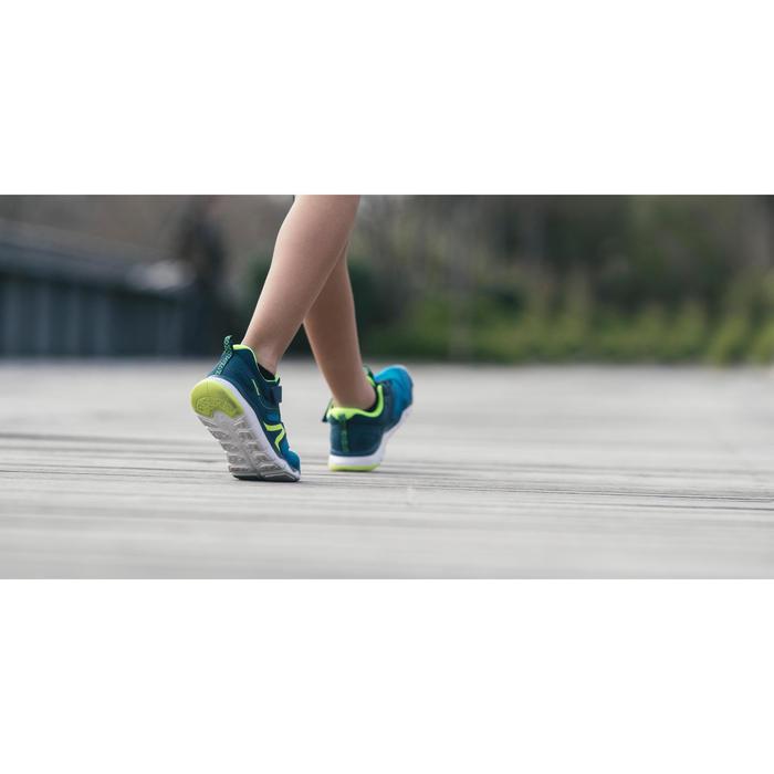 Zapatillas de marcha para niños PW 540 negras / blancas