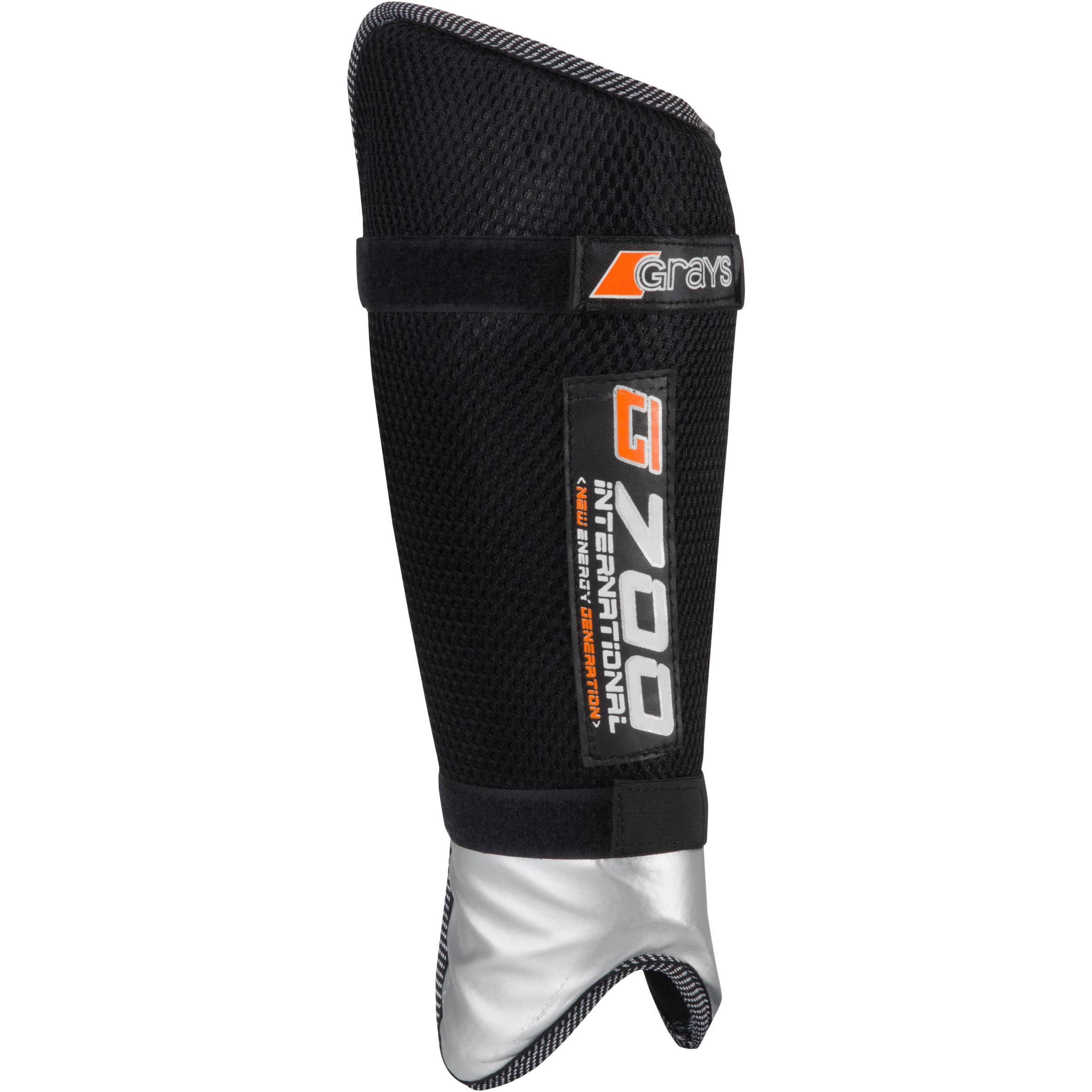Grays Scheenbeschermers voor hockey volwassenen G700 Grays zwart
