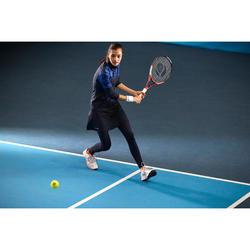 Tennistop Thermo-Top 3/4-Ärmel Thermic 900 Damen dunkelgrau/dunkelblau