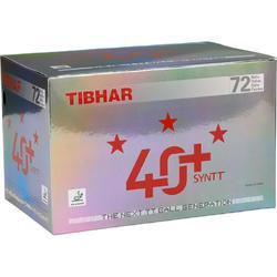 Tafeltennisballetjes 40+SYNTT 3 ster ITTF, 72 stuks wit