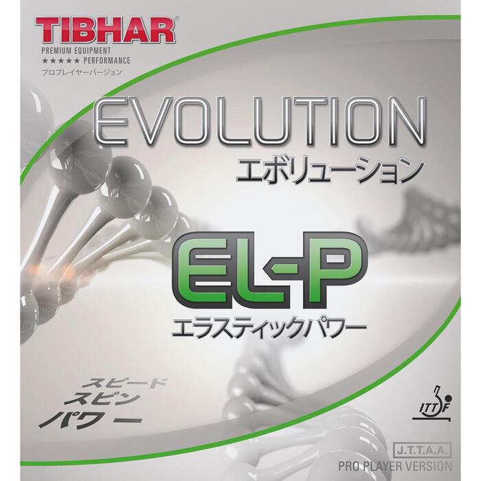 Tafeltennis rubbers Evolution EL-P
