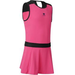Jurk Soft roze 500 tennis/badminton/tafeltennis/padel/squash