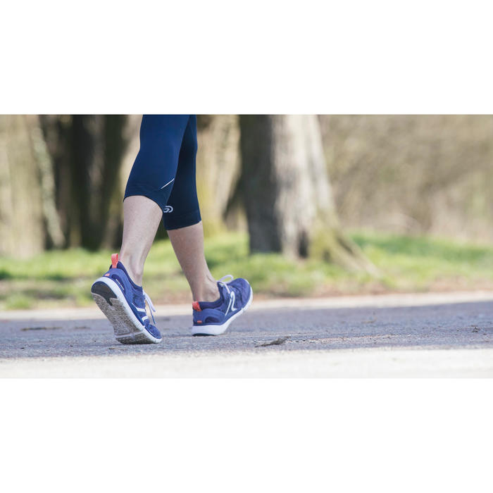Chaussures marche sportive femme PW 580 Waterproof navy - 1192466