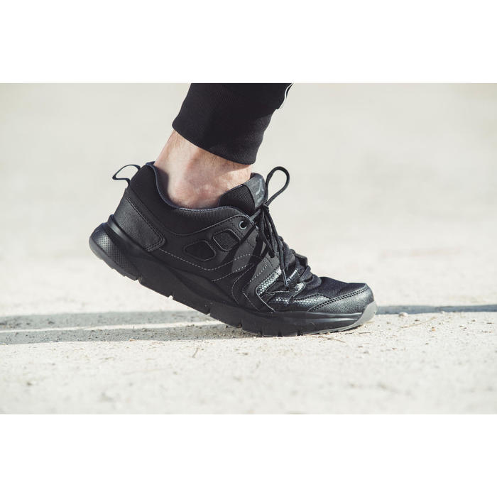 Chaussures marche sportive homme HW 100 noir - 1192471