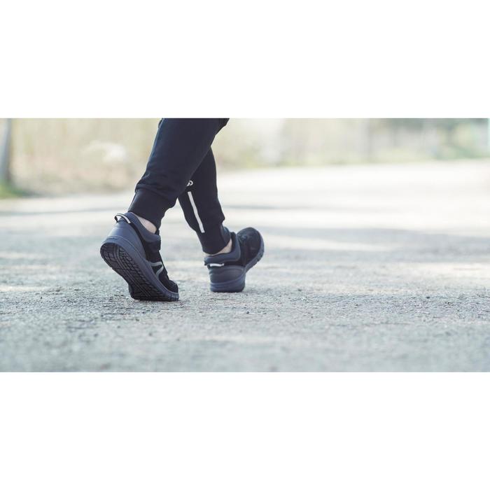 Chaussures marche sportive homme HW 140 Strap cuir noir - 1192474