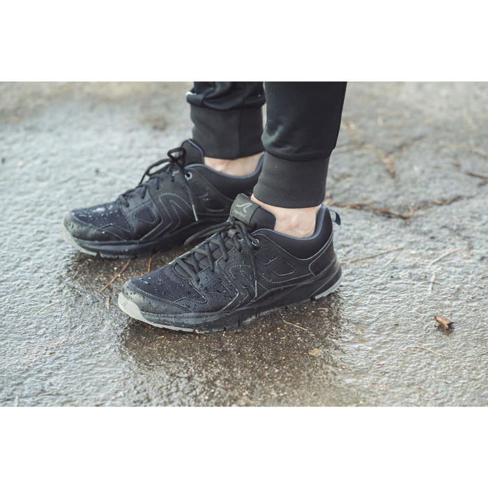 Chaussures marche sportive homme HW 100 noir - 1192480