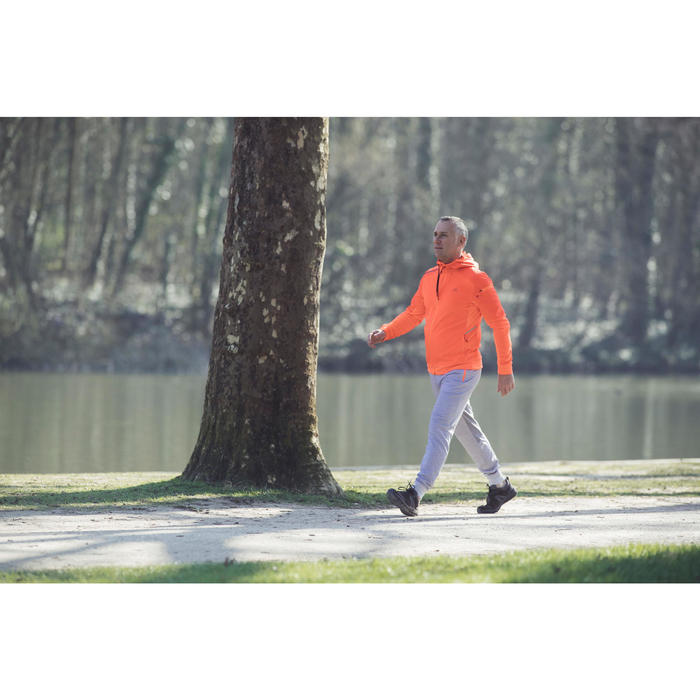 Walkingschuhe HW 540 Leder Herren braun