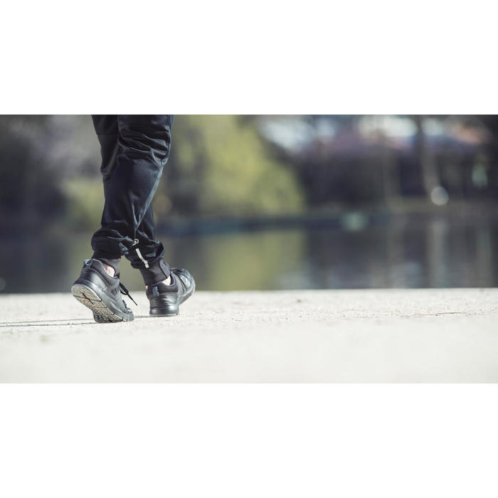 Chaussures marche sportive homme HW 100 noir - 1192482