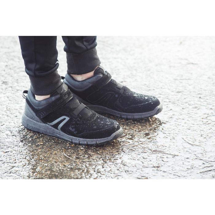 Chaussures marche sportive homme HW 140 Strap cuir noir - 1192485