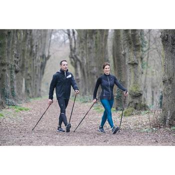 Chaussures marche nordique femme NW 580 Waterproof noir / bleu - 1192511