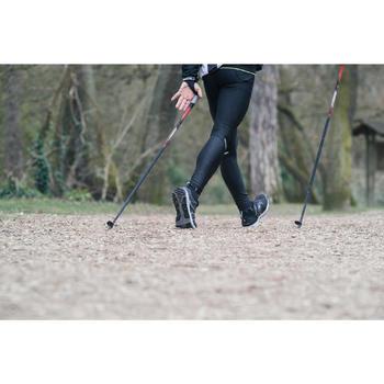 Chaussures marche nordique homme NW 580 Waterproof noir - 1192513