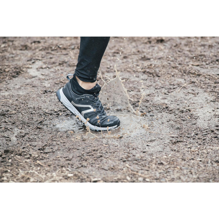 Chaussures marche nordique homme NW 580 Waterproof noir - 1192514