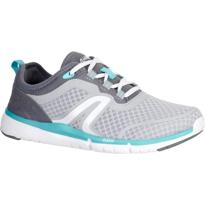 Chaussures marche sportive femme Soft 540 Mesh turquoise