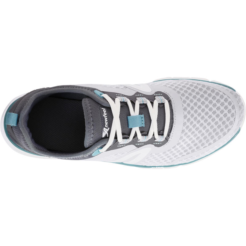 Walking shoes for women soft 540 mesh - Turquoise