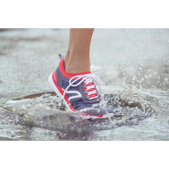 Chaussures marche sportive femme PW 580 Waterproof navy - 1192558