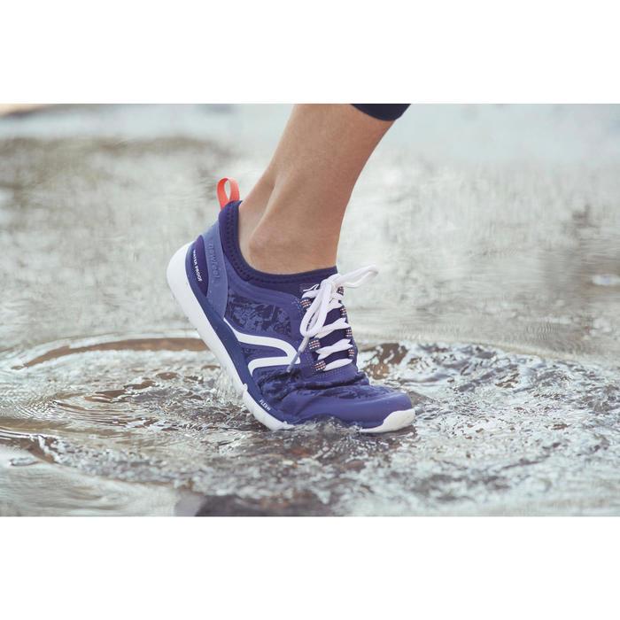 Chaussures marche sportive femme PW 580 Waterproof noir