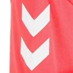 Camiseta de balonmano Hummel Campaign mujer rosa/negro, espiguillas blanco 2017