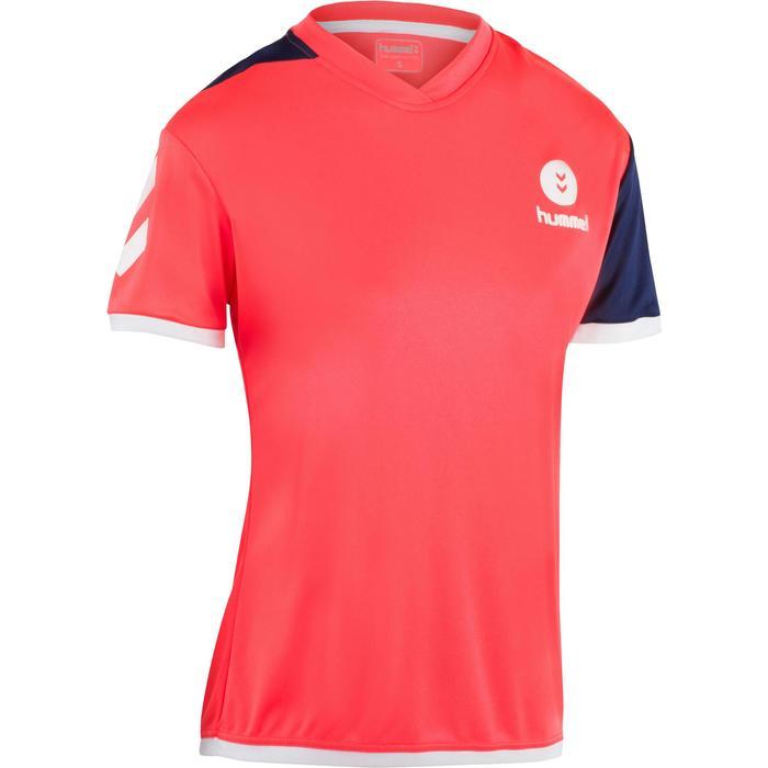 Camiseta de balonmano campaign mujer rosa / negro