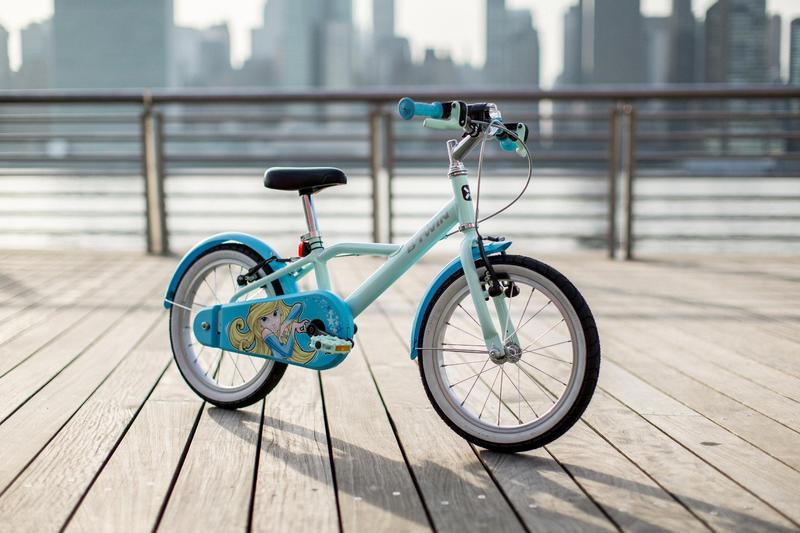 500 Blue Princes 16-Inch Bike 4-6 Years
