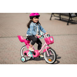 Puppen-Fahrradsitz rosa