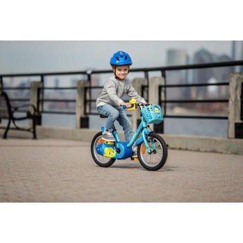 500 Kids' 14-Inch Bike (3-5 Years) - Ocean