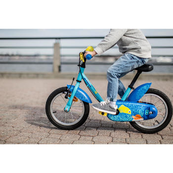 kinderfahrrad 14 zoll ocean 500 blau b 39 twin decathlon. Black Bedroom Furniture Sets. Home Design Ideas