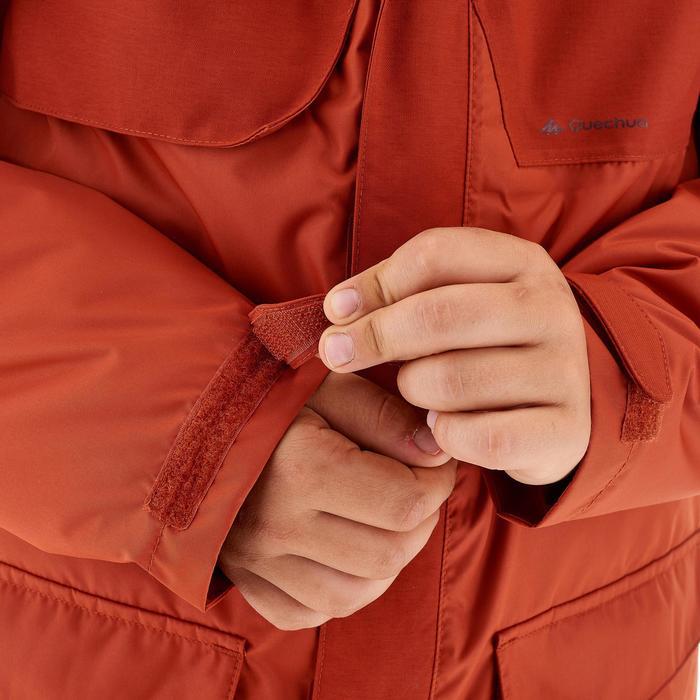 Chaqueta cálida impermeable de travesía Niño WARM XX rojo