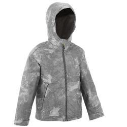 Veste chaude imperméable de randonnée Garçon Hike 100 Warm