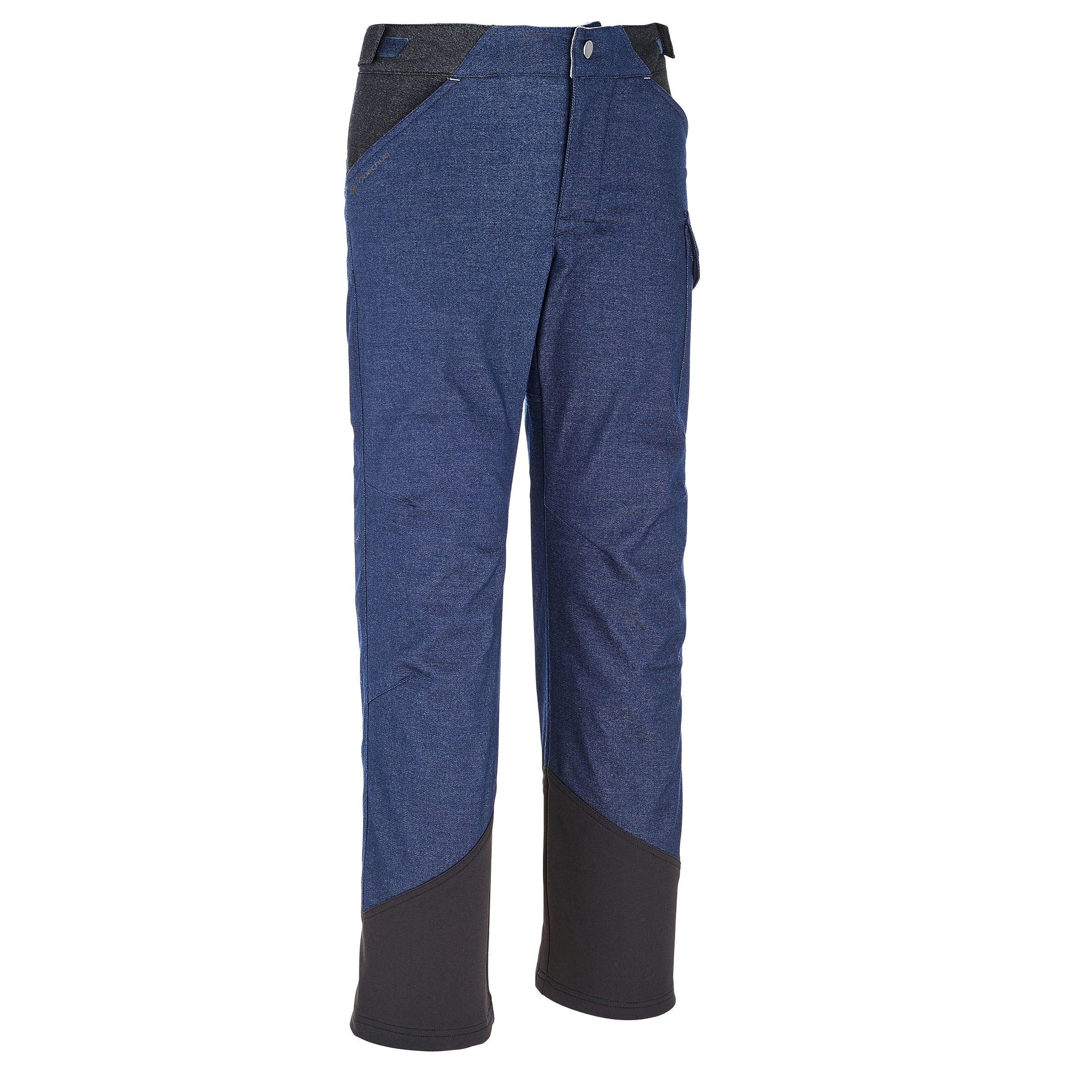 SH100 Warm Child's Snow Hiking Trousers - Blue