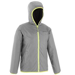 SH50 Warm Kids' Snow Hiking Jacket - Dark Grey