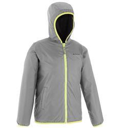 兒童保暖雪地健行外套SH50-深灰色