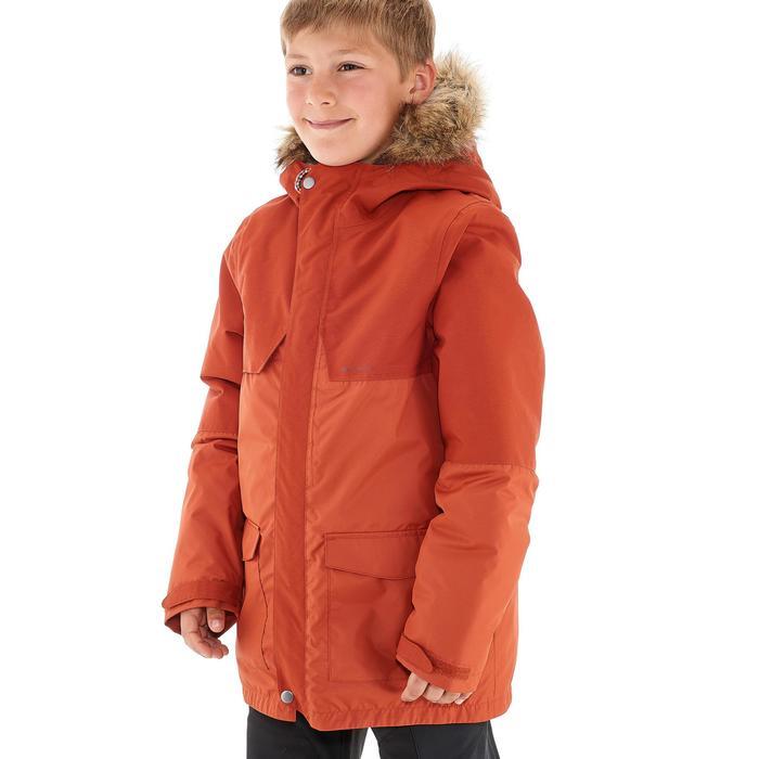 Veste chaude imperméable de randonnée Garçon XX WARM - 1192802