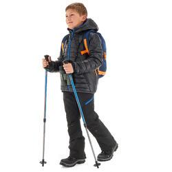 Doudoune de randonnée garçon MH500 NOIRE BLEU