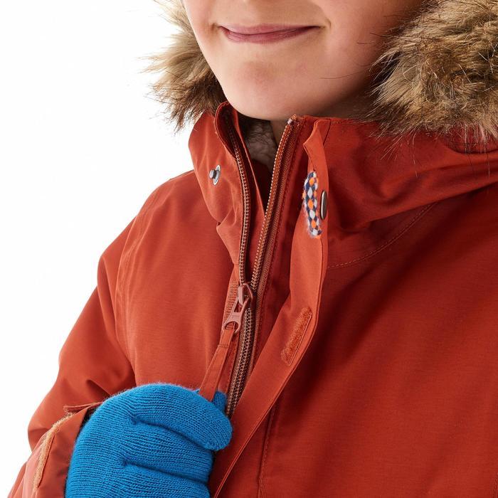 Wanderjacke wasserdicht XX Warm Kinder rot