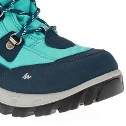Kinder wandelschoenen voor de sneeuw SH520 warm high watergroen