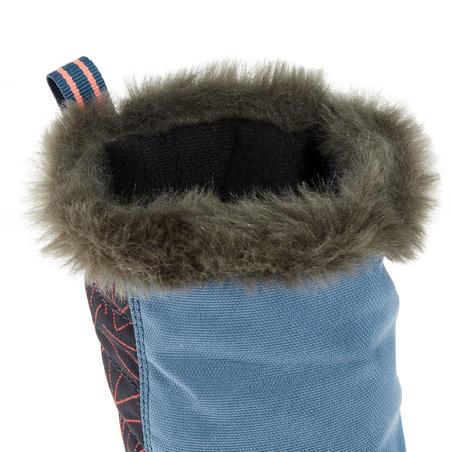 Junior Snow Hiking Boots SH500 Warm - Blue