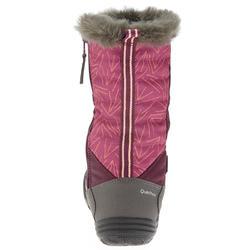 SH500 Warm JR Snow Hiking Boots - Purple