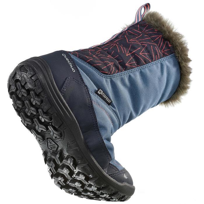 Bottes de randonnée neige Enfant SH900 chaudes et imperméables Light Blue - 1192929