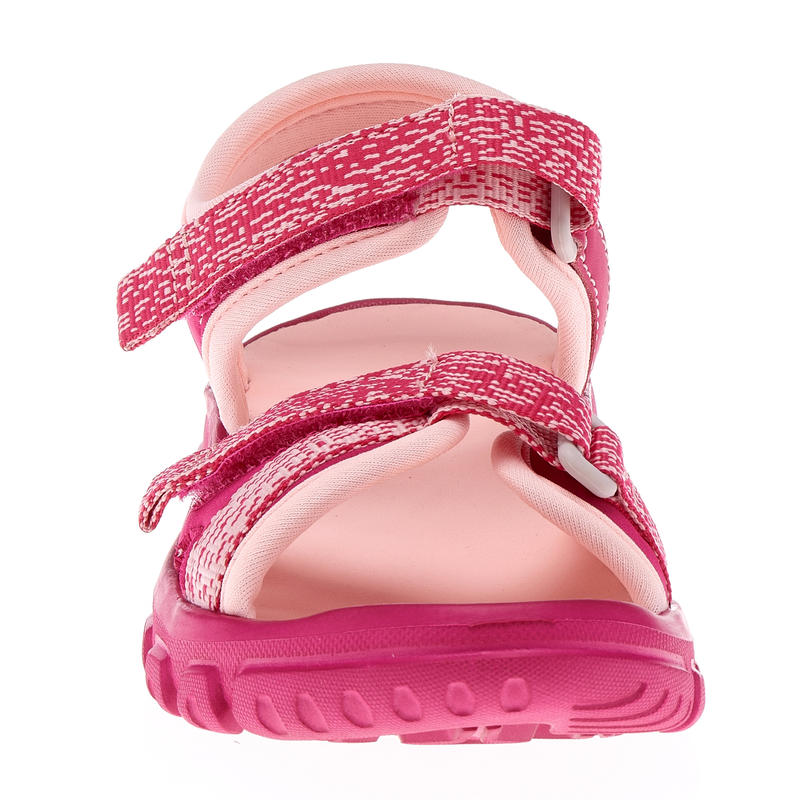 MH100 Kid's hiking sandals kid pink