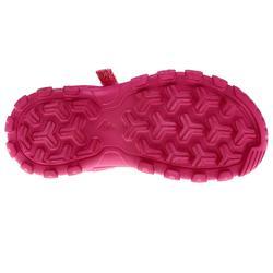 Sandalias de senderismo júnior MH100 KID rosa