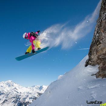 Gants de ski femme FREE 500 noirs - 119294