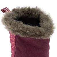 Junior Winter Hiking Boots SH500 Warm - Purple