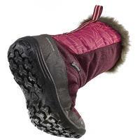 Bottes de randonnée d'hiver junior SH500 chaudes Violet