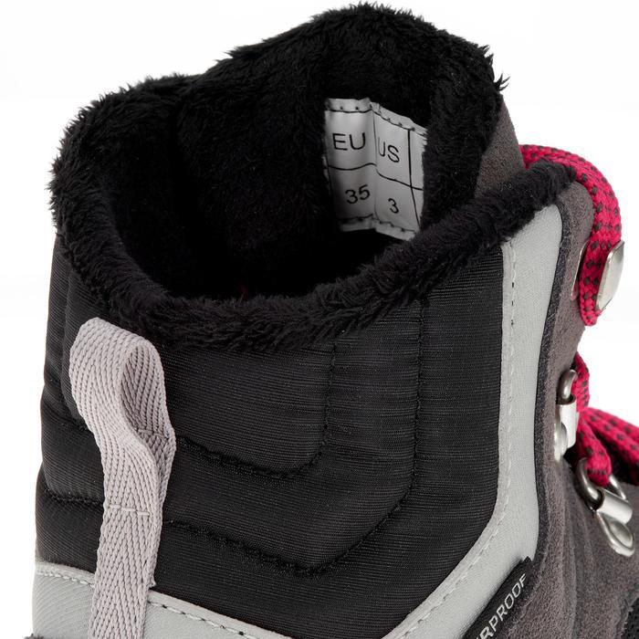Chaussures de randonnée neige junior SH500 warm lacet mid - 1192959