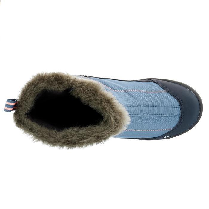 Bottes de randonnée neige Enfant SH900 chaudes et imperméables Light Blue - 1192963