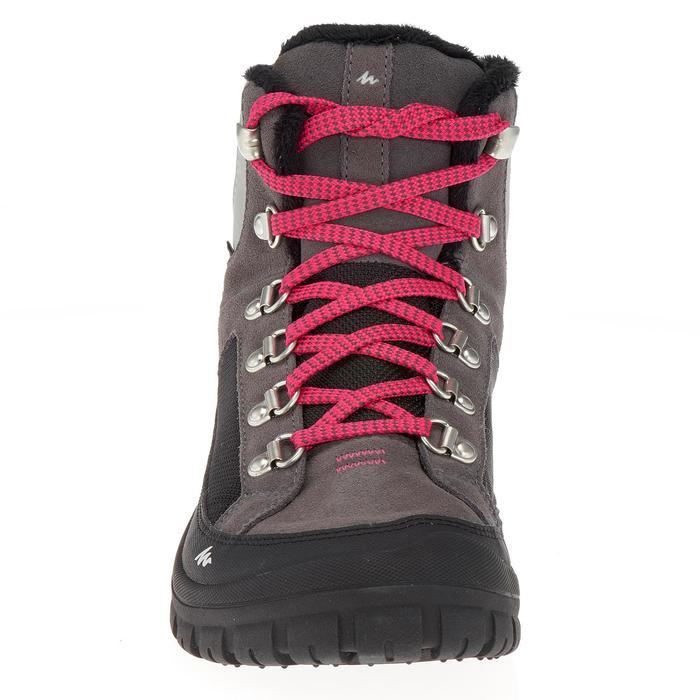Chaussures de randonnée neige junior SH500 warm lacet mid - 1192973
